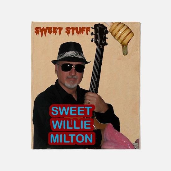 Sweet Willie Milton Poster Throw Blanket