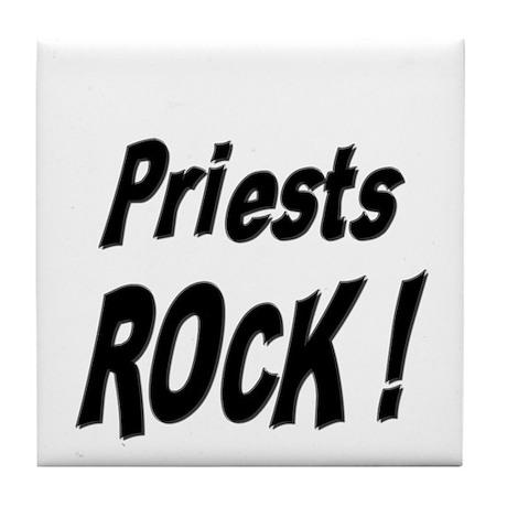 Priests Rock ! Tile Coaster