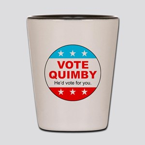 Vote Quimby Shot Glass
