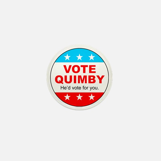 Vote Quimby Mini Button