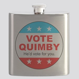 Vote Quimby Flask
