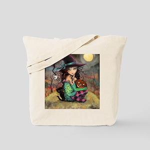 Halloween Hill Tote Bag