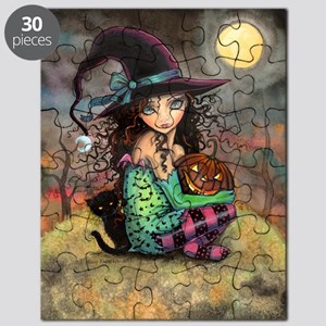 Halloween Hill Puzzle
