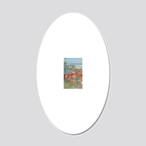 441_1 20x12 Oval Wall Decal