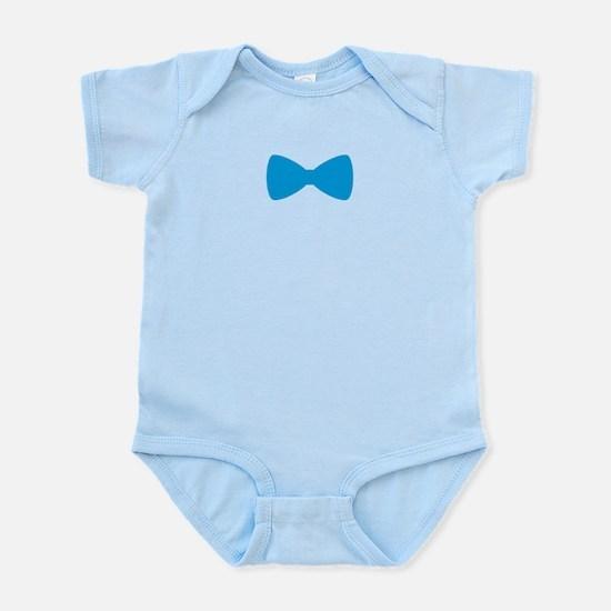 Bow Tie Blue Body Suit