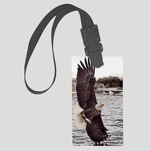 Striking Eagle Large Luggage Tag