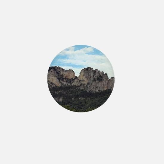 Seneca Rocks Mini Button