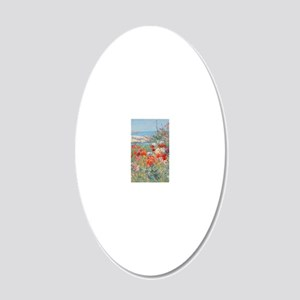 443_1 20x12 Oval Wall Decal