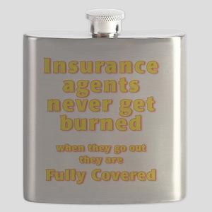 Insurance agents never get BURNED Flask