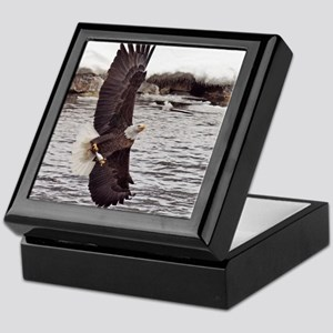 Striking Eagle Keepsake Box
