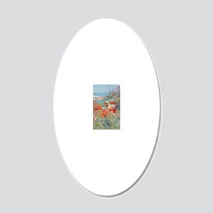greeting_card1 20x12 Oval Wall Decal