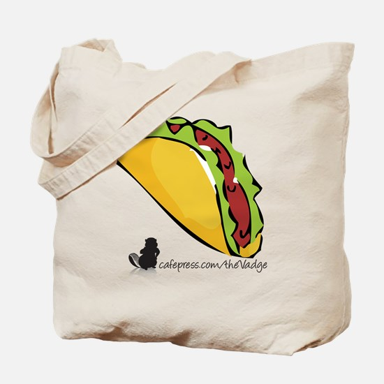 Taco The Vadge Tote Bag