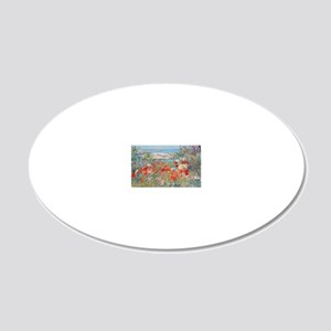 picture_frame1 20x12 Oval Wall Decal