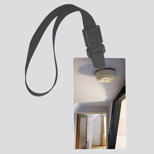 Smoke alarm Large Luggage Tag