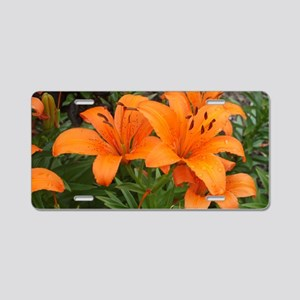 FLOWER POWER Aluminum License Plate