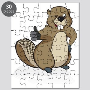 Thumbs up beaver Puzzle