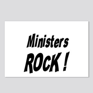 Ministers Rock ! Postcards (Package of 8)