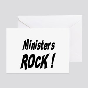 Ministers Rock ! Greeting Cards (Pk of 10)