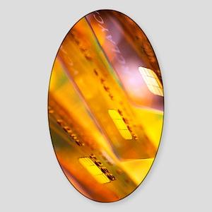 Smart chip Sticker (Oval)