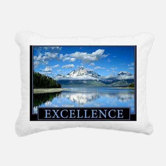 Classic Excellence Lands Rectangular Canvas Pillow