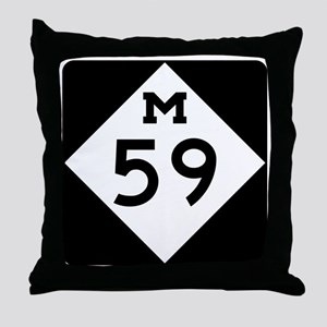 M59 Throw Pillow