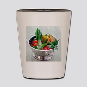 Fruit and vegetables Shot Glass