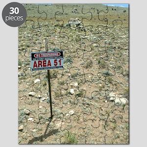 Area 51 UFO site Puzzle