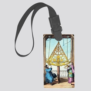 Astronomical sextant Large Luggage Tag