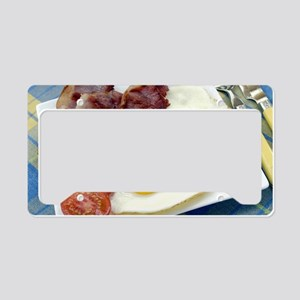 Full English breakfast License Plate Holder