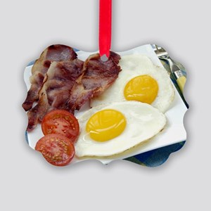 Full English breakfast Picture Ornament