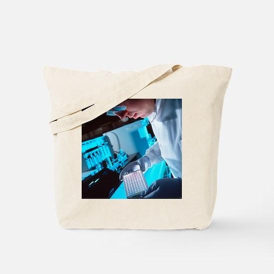 AIDS blood testing Tote Bag