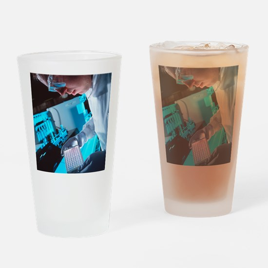 AIDS blood testing Drinking Glass