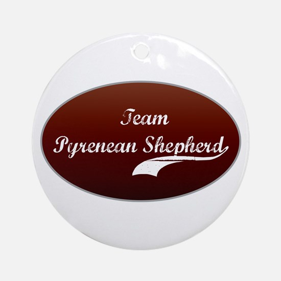 Team Shepherd Ornament (Round)