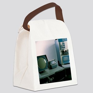 DEC PDP-1 computer Canvas Lunch Bag