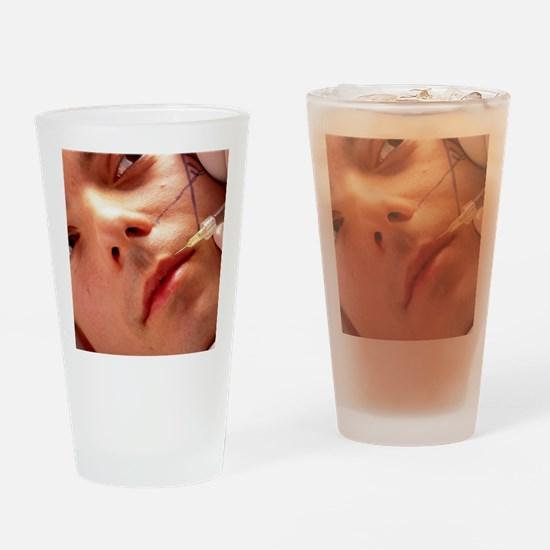Anti-wrinkle injection Drinking Glass