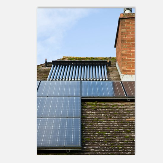 Solar energy systems Postcards (Package of 8)