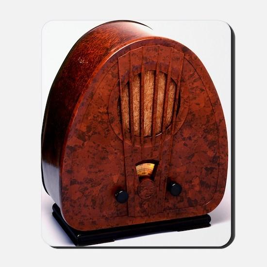 Bakelite radio Mousepad