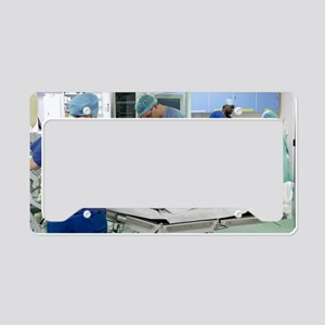 Anaesthesia License Plate Holder