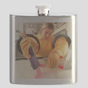 Blood analysis Flask