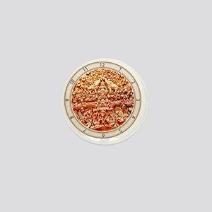 Angkor Wat Stonework Mini Button