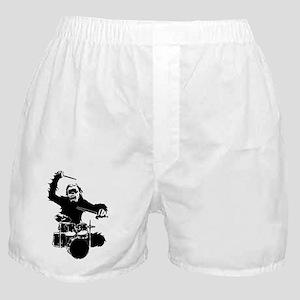 drumming gorilla Boxer Shorts