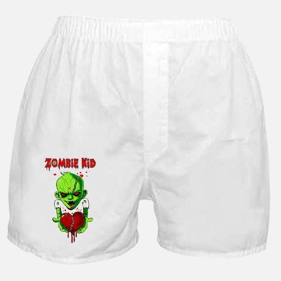Zombie Kid Boxer Shorts
