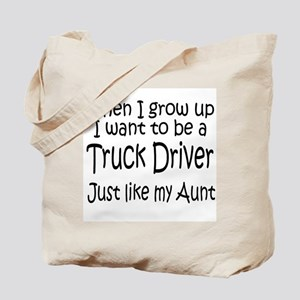 WIGU Trucker Aunt Tote Bag