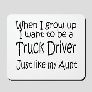 WIGU Trucker Aunt Mousepad