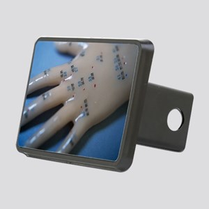 Acupuncture model Rectangular Hitch Cover