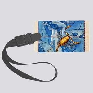 Historical artwork of the conste Large Luggage Tag