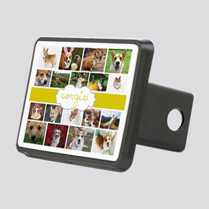 Corgis! Rectangular Hitch Cover