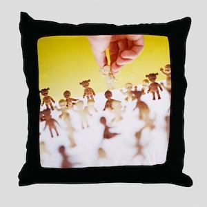 Adoption Throw Pillow