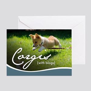 3rd Annual Corgis (with blogs) Calen Greeting Card
