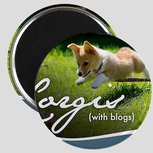 3rd Annual Corgis (with blogs) Calendar Magnet
